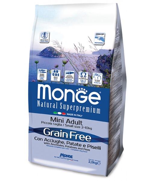 Grain Free Mini Acciughe, Patate e Piselli