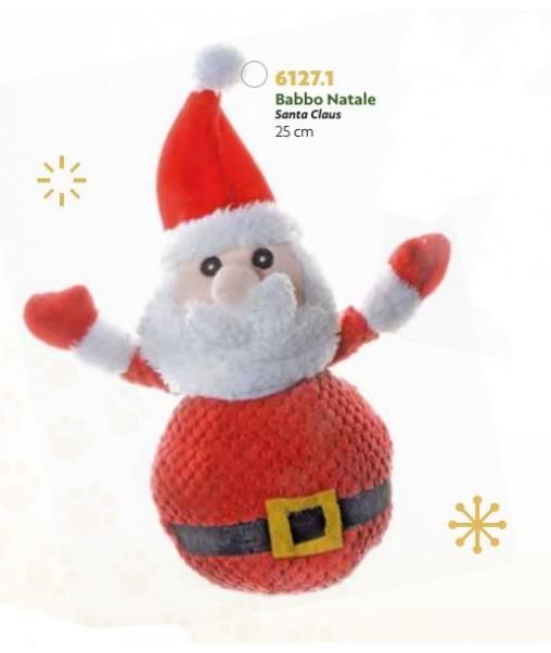 Babbo Natale Zampa.Peluche Babbo Natale 25 Cm